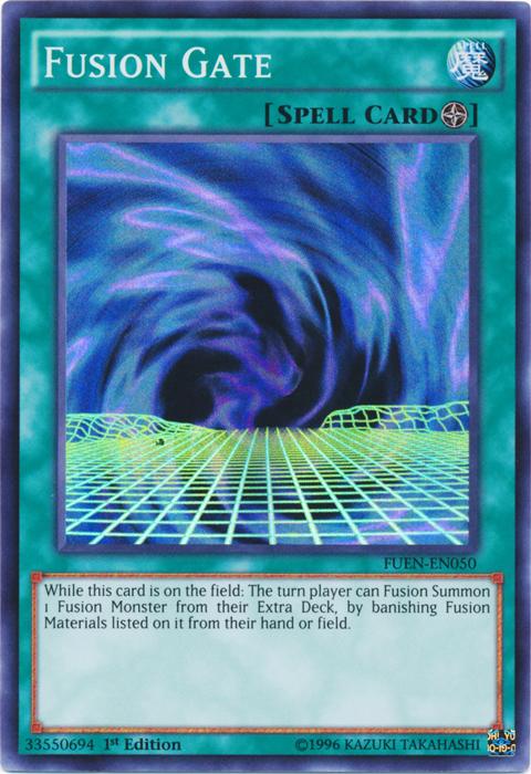 Fusion Gate - FUEN-EN050 - Super Rare - 1st Edition