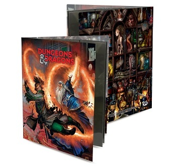 ultra pro binder d d character folio wizard accessories and