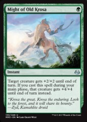 Might of Old Krosa on Channel Fireball