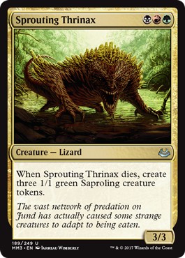 Sprouting Thrinax - Foil