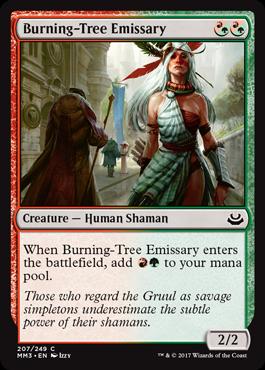 Burning-Tree Emissary - Foil