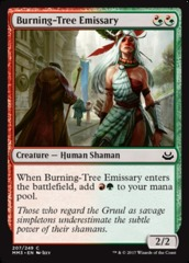 Burning-Tree Emissary - Foil