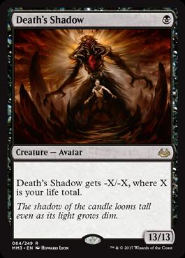 Deaths Shadow - Foil