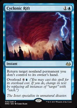Cyclonic Rift - Foil