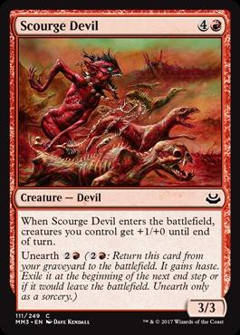 Scourge Devil - Foil