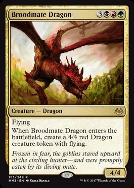 Broodmate Dragon - Foil
