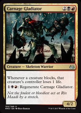 Carnage Gladiator - Foil