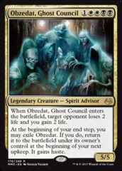 Obzedat, Ghost Council - Foil