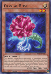 Crystal Rose - SP17-EN021 - Common - 1st Edition