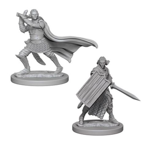 Elf Paladin (Male) (72608) - Gaming Supplies » RPG Miniatures