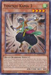 Yosenju Kama 3 - SP17-EN006 - Starfoil Rare - 1st Edition