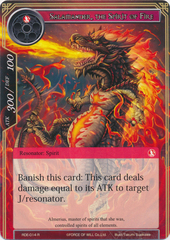 Salamander, the Spirit of Fire - RDE-014 - R - Foil