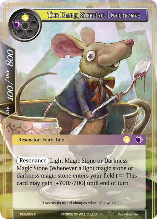 The Dark Sleeping Dormouse - RDE-089 - C - Foil