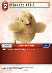 Chocobo Chick - 1-019C - Foil