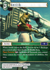 Aerith - 1-064R - Foil on Channel Fireball