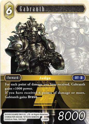 Fire Standard // Foil Final Fantasy TCG: Opus 1 Garland 1-006H Hero