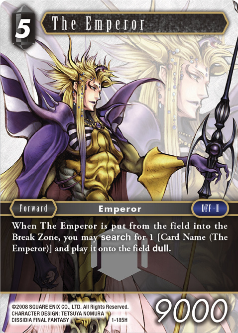 The Emperor - 1-185H - Foil