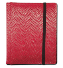 Legion 4 Pocket Dragon Hide Binder:  Red