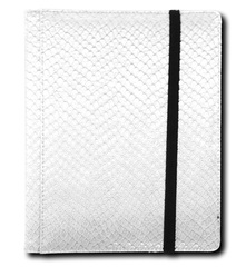 Legion 4 Pocket Dragon Hide Binder:  White