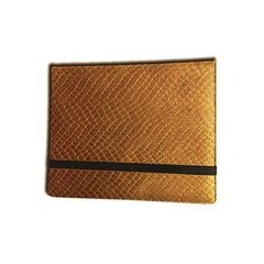 Legion 8 Pocket Dragon Hide Binder: Gold