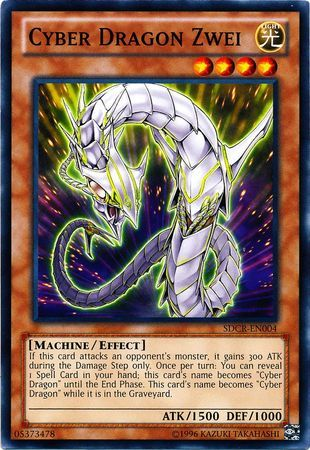 Cyber Dragon Zwei - SDCR-EN004 - Common - Unlimited Edition