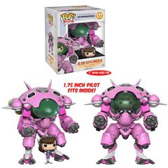 Pop! Games 177: Overwatch - D.Va And Meka 2-Pack