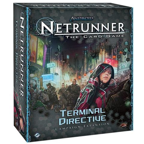 Terminal Directive Campaign Expansion- Data Pack (Android Netrunner)