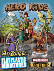 Flat Plastic Miniatures: Hero