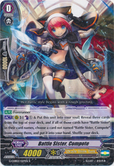 Battle Sister, Compote  - G-CHB02/027EN - R on Channel Fireball