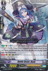 Battle Sister, Rusk  - G-CHB02/049EN - C on Channel Fireball