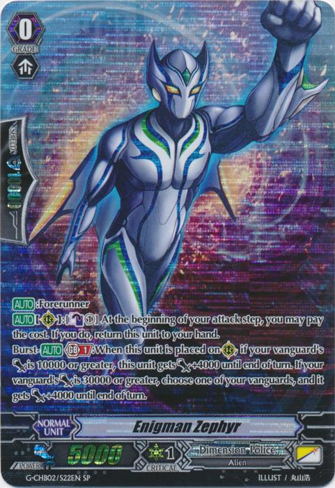 Enigman Zephyr - G-CHB02/S22EN - SP