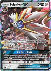 Solgaleo GX - SM16 - Legends of Alola Tin - SM Black Star Promo