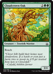 Cloudcrown Oak on Channel Fireball
