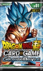 Dragon Ball Super TCG - Galactic Battle Booster Pack (B01)