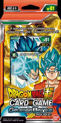Dragon Ball Super TCG - Galactic Battle - Special Pack