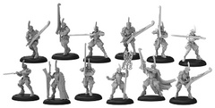 Ellowuyr Swordsmen W/Officer & Standard Box