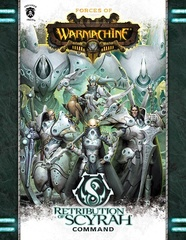 Warmachine: Forces of Warmachine - Retribution Of Scyrah Command (Softcover) - pip1086