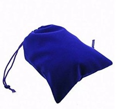 Chessex - Suedecloth Dice Bag - Small Royal Blue