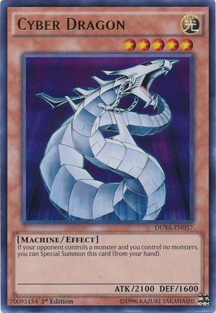 Cyber Dragon - DUSA-EN057 - Ultra Rare - 1st Edition