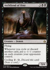 Archfiend of Ifnir on Channel Fireball