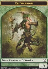 Elf Warrior Token on Channel Fireball