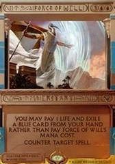 Force of Will - Foil (Amonkhet Invocation)