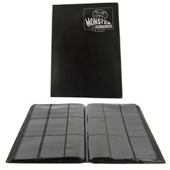 Monster - Mega Monster Binder: 9 Pocket - Matte Black