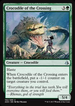 Crocodile of the Crossing - Foil