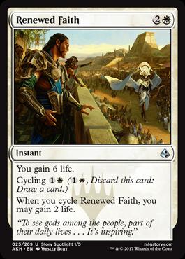 Renewed Faith - Foil