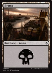 Swamp - Foil (263)(AKH)
