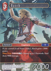 Basch - 2-014H - Foil on Channel Fireball