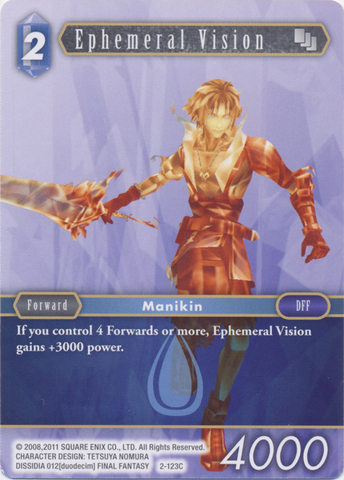 Ephemeral Vision - 2-123C - Foil