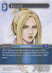 Quistis - 2-127R - Foil
