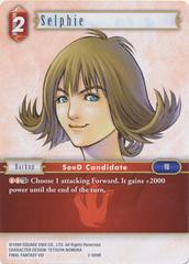Selphie - 2-009R - Foil